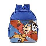 Toddler Kids Avatar The Last Airbender School Backpack Style Baby Boys Girls School Bag RoyalBlue