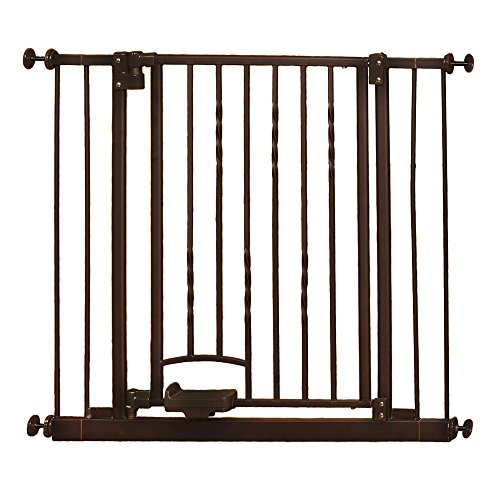 Supergate Step n Go Gate, Bronze, Fits Spaces between 31.25""