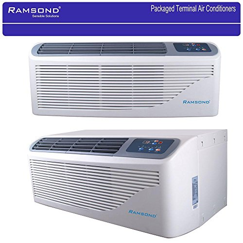 Ramsond Packaged Terminal Air Conditioning (PTAC) 15,000 BTU (1.25 Ton) + 5 kW Electrical Heater