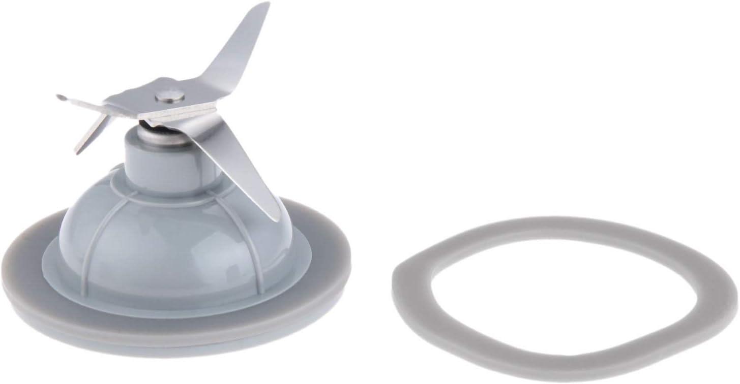 BL1900 Blender Blade and Rubber Sealing Gasket, Replacement Parts for Black Decker Blender # BL1900, BL3900, BL4900, BL5000, BL5900, BL6000, BL9000