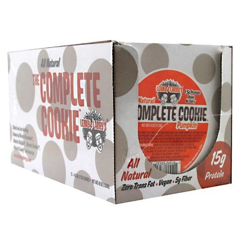 Lenny & Larry's All-Natural Complete Cookie - Pumpkin - 12 per Box - 4 Oz (113 g)