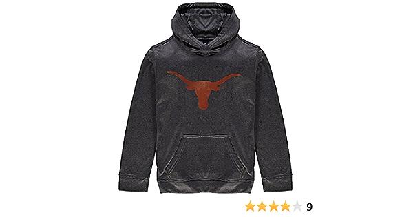 Elite Fan Shop Texas Longhorns Hooded Sweatshirt Bold Orange