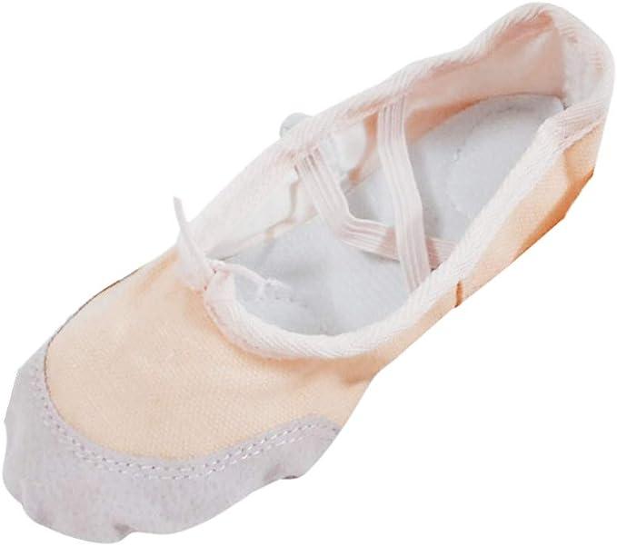 Amazon.com: HENWERD Zapatos de Ballet para Mujeres Niñas ...