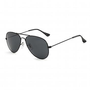 Modische Mode-Sonnenbrille Jurte , Schwarz Schwarz