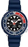 Seiko PADI Special Edition Prospex Solar Dive Watch with Black Silicone Strap 200