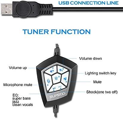 Supsoo G800 USB Gaming Headset