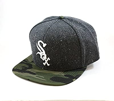 Limited Edition MLB Chicago White Sox Logo Snapback Hat with Camo Visor by American Needle