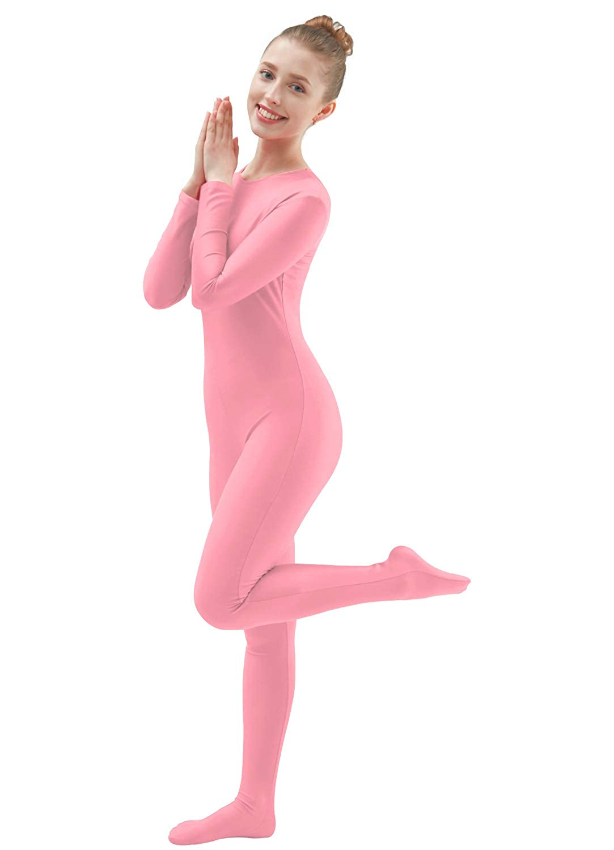 Ensnovo Womens Lycra Spandex One Piece Unitard Full Bodysuit Zentai Suit Costume 66-07-1336