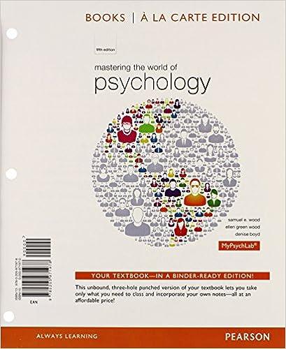 Amazon mastering the world of psychology books a la carte amazon mastering the world of psychology books a la carte edition 5th edition 9780205971978 ellen green wood samuel e wood denise boyd books fandeluxe Gallery