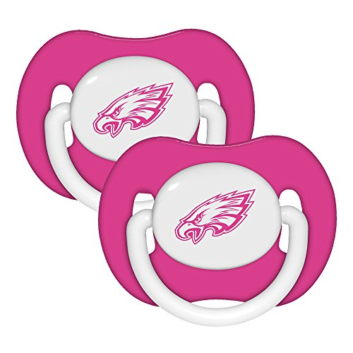baby-fanatic-pacifier-philadelphia-eagles-2-count