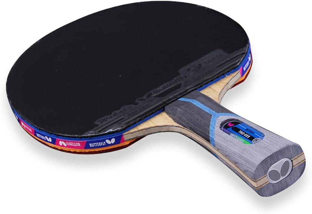 JWD HOME Raqueta De Tenis De Mesa Raqueta De Tenis De Mesa De 8 Estrellas Single Shot Carbon