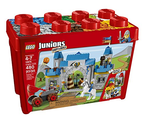 Amazon.com: LEGO Juniors Knights' Castle 10676 Building Set: Toys ...