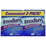 Imodium Multi-Symptom Relief - 2 Pack, 60-Count Total