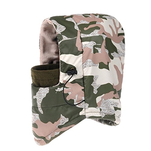 De Prueba Mens Hiking Winter Viento Hat Esquí El Ear Rojo Winter Para Ushanka Bomber SOOCO Warm Mask Unisex Patinaje Flap De A 0Rqw5Y