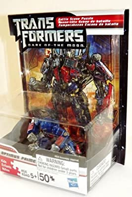 Optimus Prime - New Transformers Action Figure & Puzzle Set!