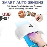 Nail Dryer,AutumnFall 36W USB LED UV Nail Gel Curing Lamp Light Nail Gel Polish Dryer Nail Art Machine (Multicolor)