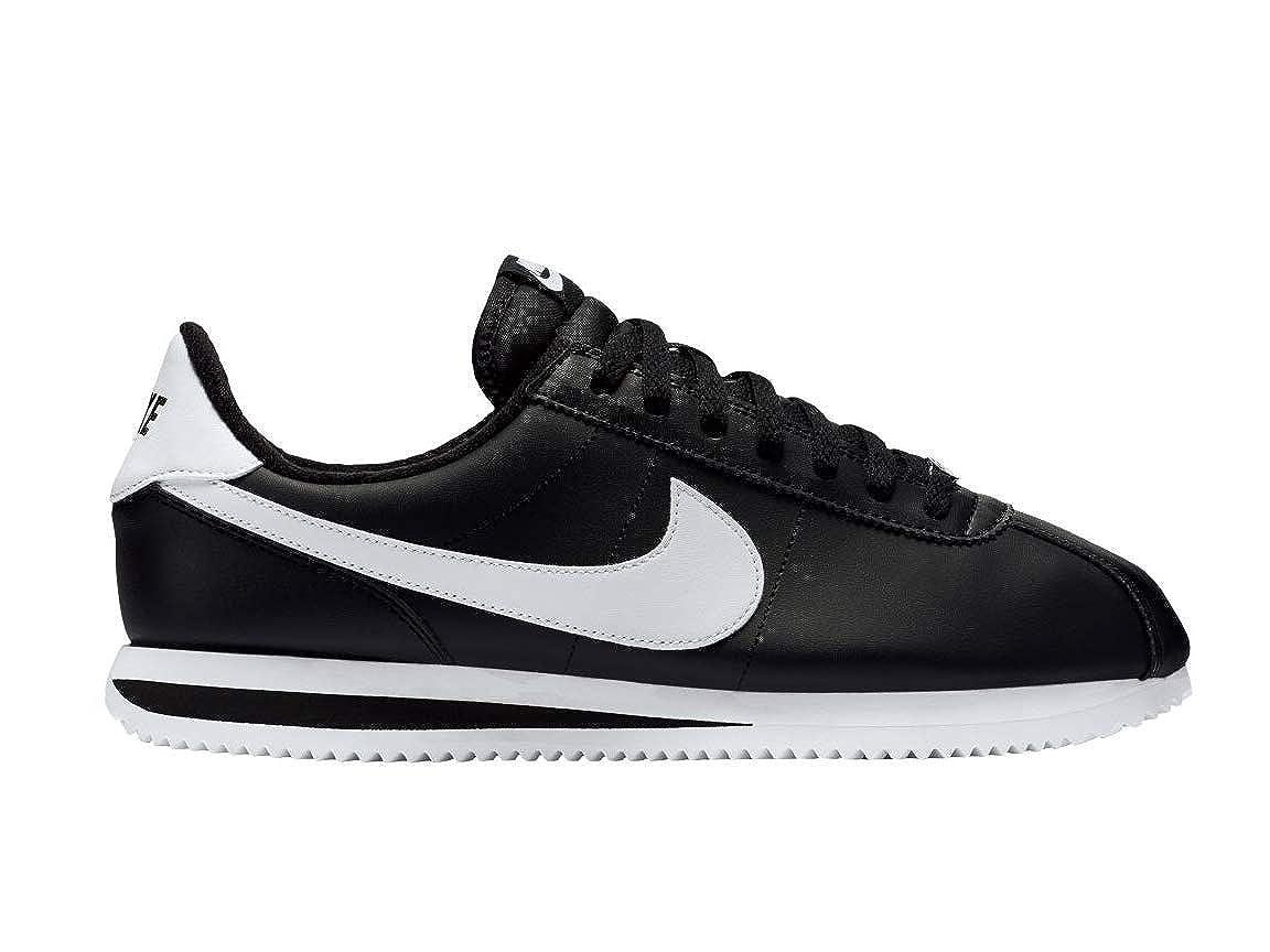 Nike Men's Cortez Basic Leather Black