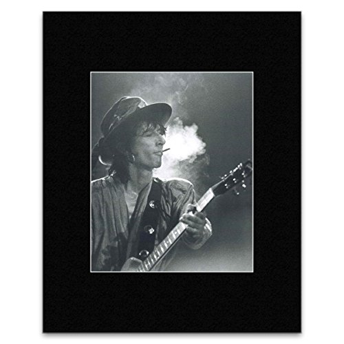 Johnny Thunders - Irving Plaza NYC 1985 Matted Mini Poster - - Plaza Irving
