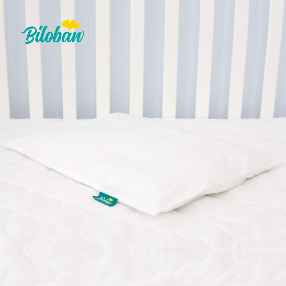 Toddler Pillow For Sleeping With Pillowcase Hypoallergenic And