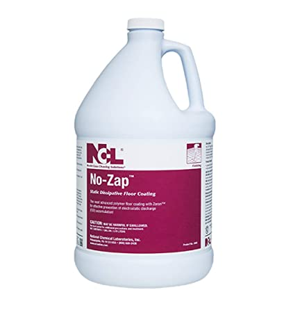Amazon com: NCL NO-ZAP Static Dissipative Floor Coating