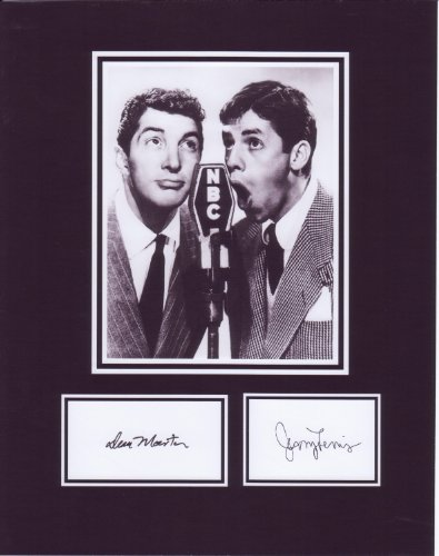 Dean Martin and Jerry Lewis 8 X 10 Photo Autograph on Glossy Photo Paper (Jerry Lewis Pictures compare prices)