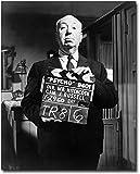 Alfred Hitchcock Portrait Psycho Movie Set 8x10 Silver Halide Photo Print