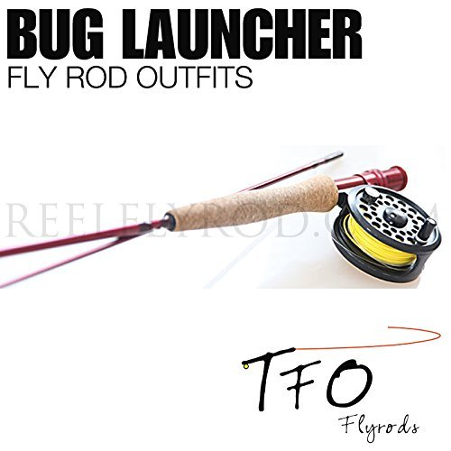 TFO Bug Launcher Fly Rod Outfit (5/6wt, 8'0'', 2pc) by Temple Fork Outfitters