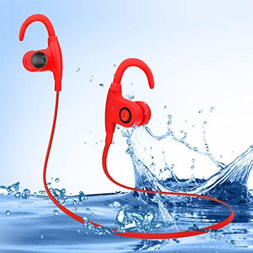 Bluetooth LESHP Waterproof Headphones Microphone