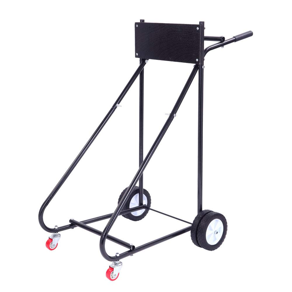 TUFFIOM Boat Motor Stand, Outboard Engine Carrier Cart Dolly for Storage, 315lbs Weight Capacity, w/Wheels