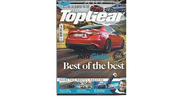Amazon com : BBC TOP GEAR MAGAZINE UK EDITION BEST CAR, 2016