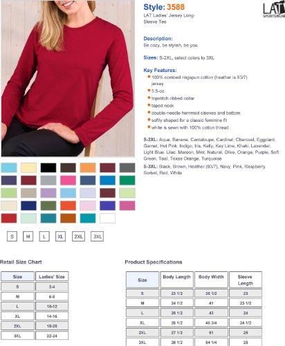 Greucy-darkLAT Apparel Womens Long Sleeve T-Shirt Púrpura