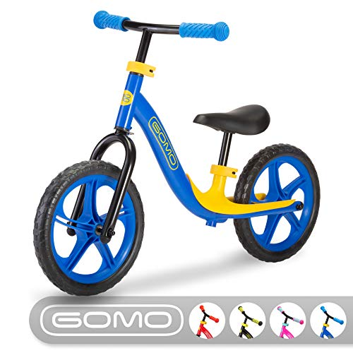 GOMO Balance Bike - Toddler Training Bike for 18 Months, 2, 3, 4 and 5 Year Old Kids