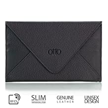 Otto Genuine Leather Wallet |Multiple Slots Money, ID, Cards, Smartphone| Unisex