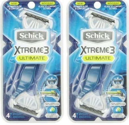 Schick Xtreme 3 Ultimate Razor - 8 Count