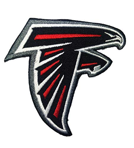 - Atlanta Falcons NFL Football Sport Patch Logo Embroidery Iron,Sewing on Clothes Size 3.15