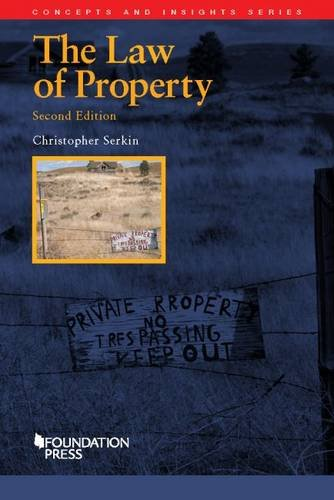 The Law of Property (Concepts and Insights)