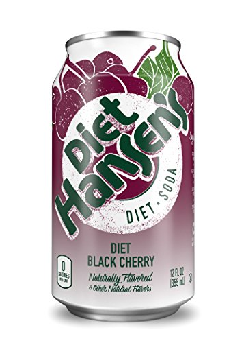 diet black cherry soda - 1