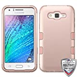 MyBat Cell Phone Case for Samsung Galaxy J7 - Rose Gold/Rose Gold