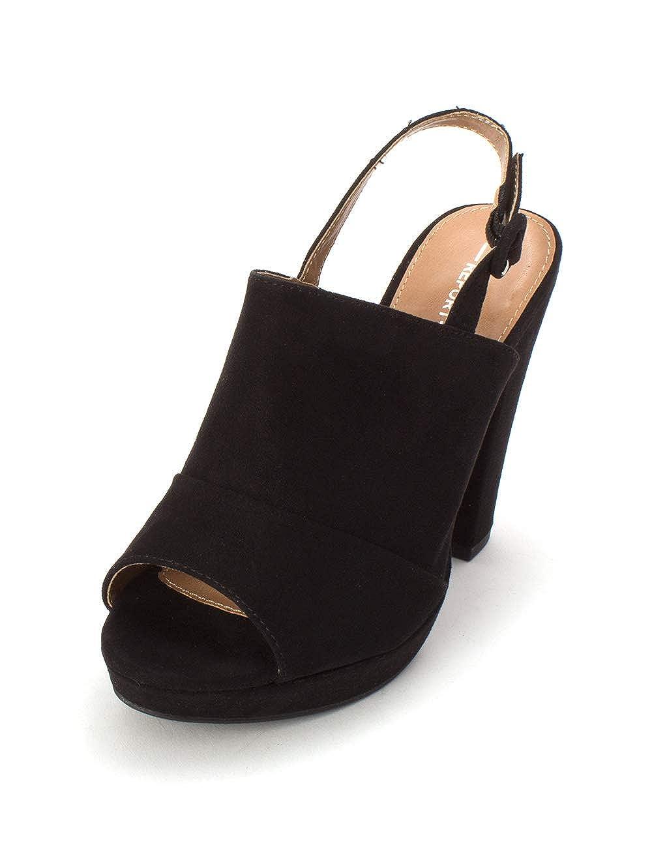 slingback mules open toe