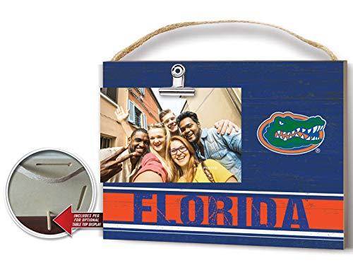 (KH Sports Fan Clip It Colored Logo Photo Frame Florida Gators)