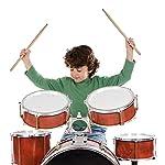 Mudder-3-Pair-Classic-5A-Maple-Wood-Drum-Sticks-Drumsticks-Wood-Tip-Drumstick-Student-Drum-Sticks-Musical-Parts