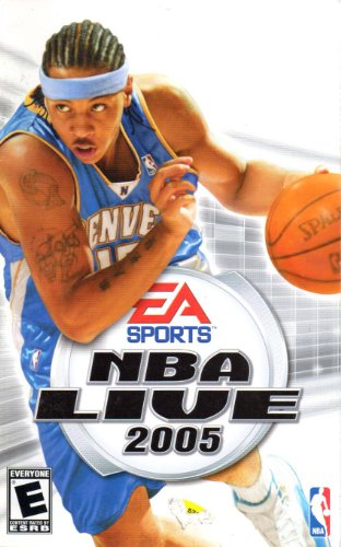 NBA Live 2005 PS2 Instruction Booklet (PlayStation 2 - Ps2 2005