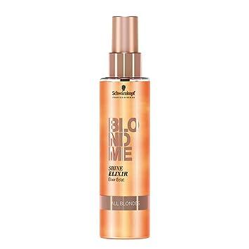 Amazon.com   Schwarzkopf Pro BlondMe Shine Elixir - All Blondes- 5 oz  (includes a Sleek Compact Mirror)   Beauty 210dd6027d22f