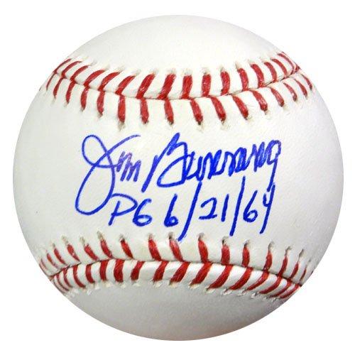 jim-bunning-autographed-official-mlb-baseball-philadelphia-phillies-pg-6-21-64-tristar-stock-56357