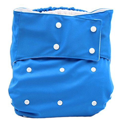 Teen Adult Cloth Diaper Blue product image