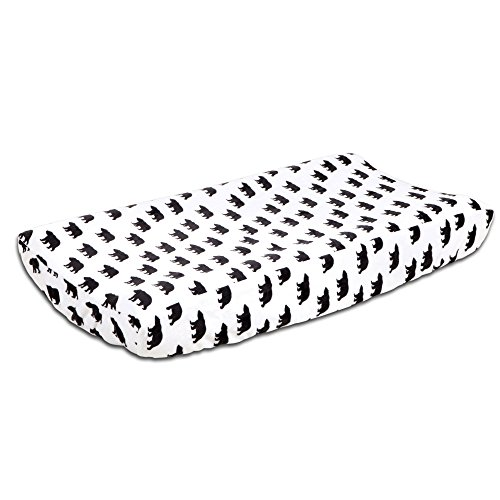 Woodland Dreams Bear Changing Pad Cover by The Peanut Shell by The Peanut Shell