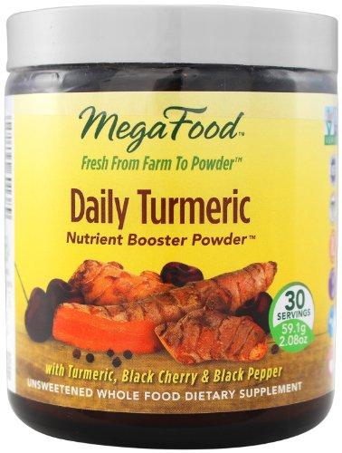 MegaFood Daily Куркума Booster Порошок, 30 порций