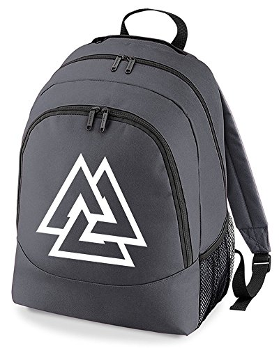 Warrior Bag Fatcuckoo Knot Symbol Unisex Norse Cool Backpack Ruck Graphic Slain Valknut From Charcoal Sack PqEOwxSw