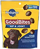 Pedigree Good Bites Hip and Joint Snack Food for Dogs, 6.7 Ounce (Pack of 10)