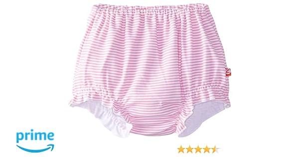 6 Months Zutano Baby-Girls Infant Candy Stripe Skinny Legging Hot Pink